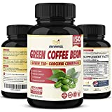 Green Coffee Bean Extract 6050mg - 5 Months Supply - Highest Potency with Garcinia Cambogia, Green Tea and Others - Antioxidant Supplement & Metabolism Booster for Weight Loss*