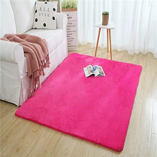 Alfombra antideslizante manta de área de imitación de piel de conejo alfombra Inicio gruesa alfombra dormitorio Alfombras sitio de la cena alfombra Sala alfombra - diferentes tamaños - se pueden perso