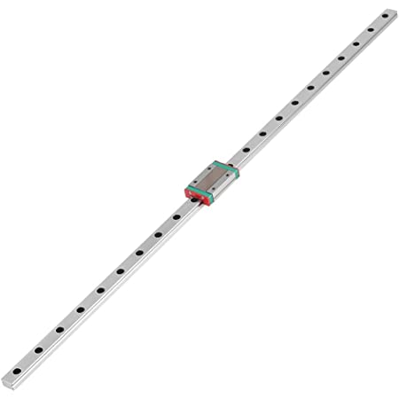 550 mm MGN12H mini linear rail guide 250//300//400//500 mm linear sliding guide with MGN12H carriage block for DIY 3D printer and CNC machine
