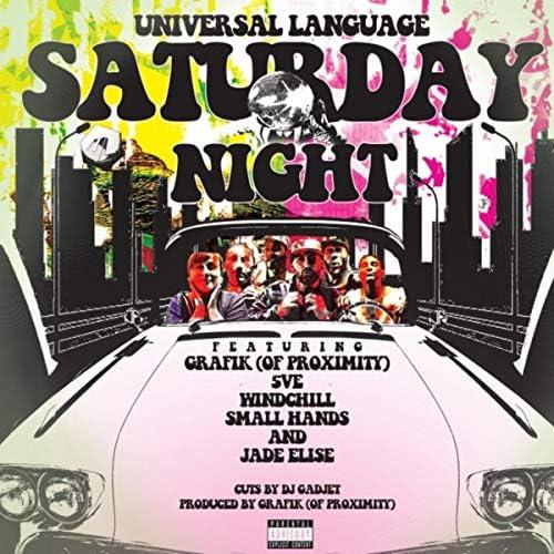 Universal Language feat. Proximity, Windchill, 5ve, Small Hands, Jade Elise, DJ Gadjet & Grafik