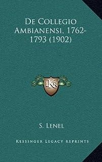 de Collegio Ambianensi, 1762-1793 (1902)