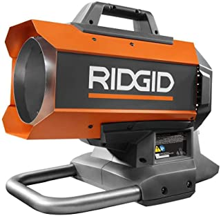 Ridgid 18-Volt Hybrid Forced Air Propane Portable Heater R8604242B (Heater Only) (Bulk Packaged, Non-Retail Packaging)