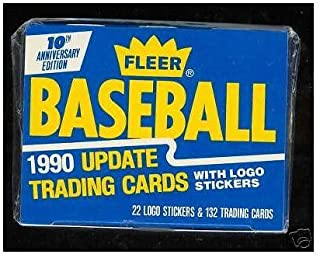 1990 Fleer Baseball Update Complete FACTORY SEALED Box Set Updated Traded