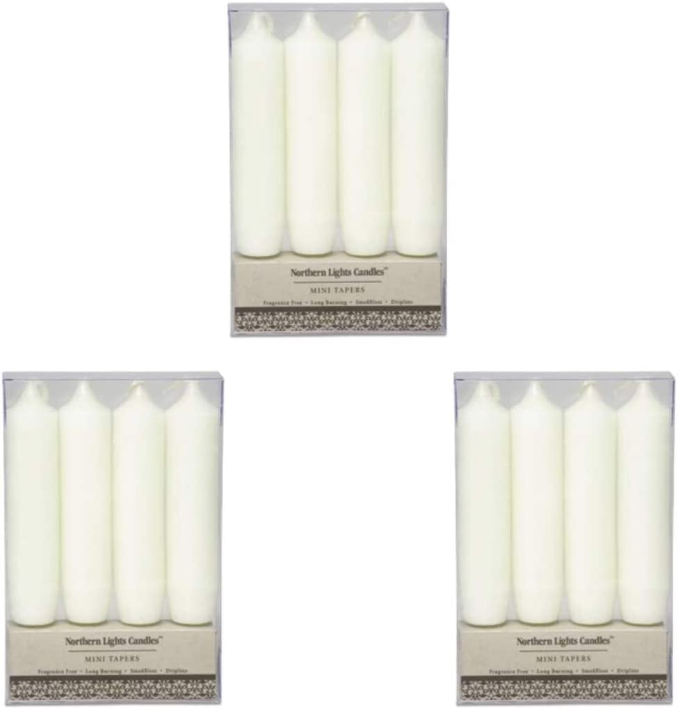 Northern Lights Candles - Rustic 4 値下げ Tapers Mini 信託 pc. Thr