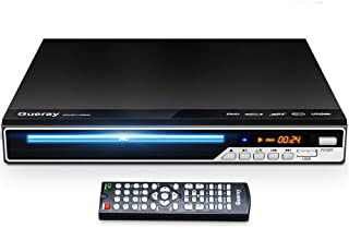 Gueray DVD Player, All Region Free DVD Player CD Disc Player for TV with HDMI/AV Output, HD 1080P, Supports MIC/USB, Remot...
