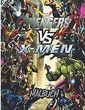x men dark phoenix cinema  Marvel Malbuch: +50 neueste hochwertige Bilder von \