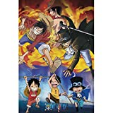 ABYstyle One Piece - Ace Sabo Luffy - Poster