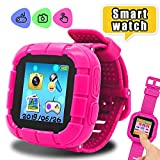 Gifts for 3-8 Year Old Girls Yehtta Smart Watch for Kids Smartwatch Touchscreen Kids Watches Girls Alarm Clock Electronic Toys for Kids VTech Kidizoom Pink Christmas Birthday Gifts