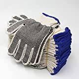 EvridWear Cotton Polyester String Knit Shell Safety Protection Work Gloves for Painter Mec...