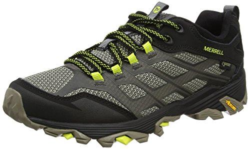 Merrell Men Moab Fst Gtx Low Rise Hiking Boots, Green (Olive Black), 8 UK (42 EU)