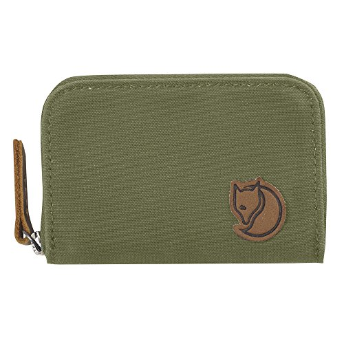 Fjallraven Zip Card Holder Wallets and Small Bags, Green, OneSize