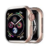 opamoo [2 Pièces] Coque pour Apple Watch Series 6/SE/5/4-40mm,Couverture Complète Housse pour...