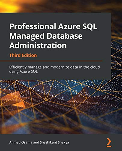 Professional Azure SQL Database Administration, 3rd Edition Front Cover