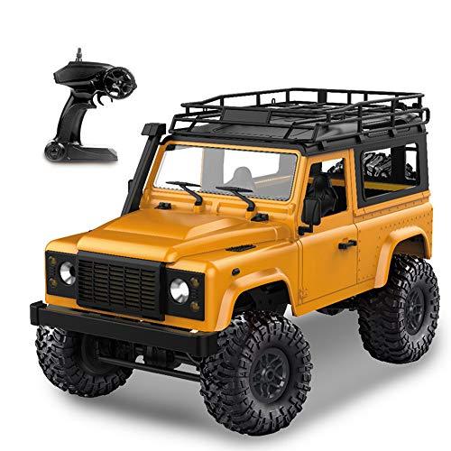 Goolsky MN-D90 Rock Crawler 1/12 4WD 2.4G Telecomando ad Alta velocit¨¤ off Road Truck RC Auto ha Condotto la Luce RTR