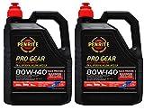 Penrite PRO Gear 80W-140 GL5 GL6 Olio Completamente Sintetico per Ingranaggi Incluso Limited Slip, 5 Litri