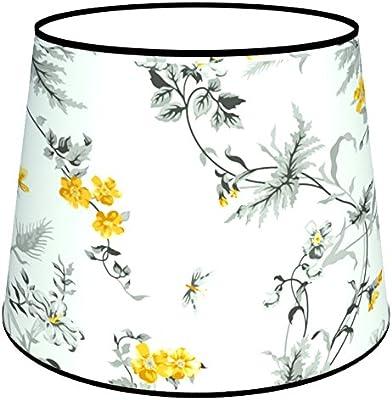 Abat-jours 7111309814731 Conique Pithea Lampe de Chevet, Tissus/PVC, Multicolore