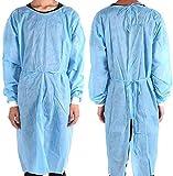 Acidea Lot de 40 uniformes médicales jetables pour usage médical imperméable et antirouille