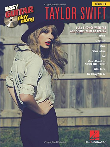 Taylor Swift: Noten, CD für Gitarre: Easy Guitar Play-Along Volume 12