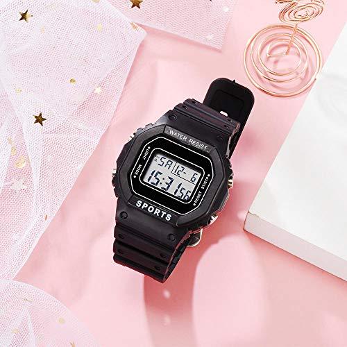 Powzz - Reloj de pulsera con diseño de unicornio (mecanismo de cuarzo)