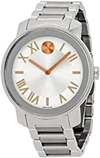 Movado Women's Swiss Quartz Stainless Steel Watch, Color: Silver-Toned (Model: 3600196)