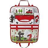 Teepao - Organizador infantil para el respaldo de asiento de coche, ideal para...