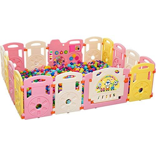 Fantastic Deal! Jdeepued Children's Playpen Children's Play Fence Child Playpen Rectangle Toddlers P...