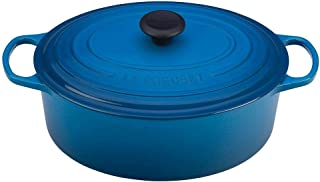 Le Creuset Signature Enameled Cast-Iron 6.75 Quart Oval French (Dutch) Oven, Marseille