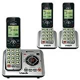 VTech - vt-cs6629-3 3-handset Cordless CID/itad