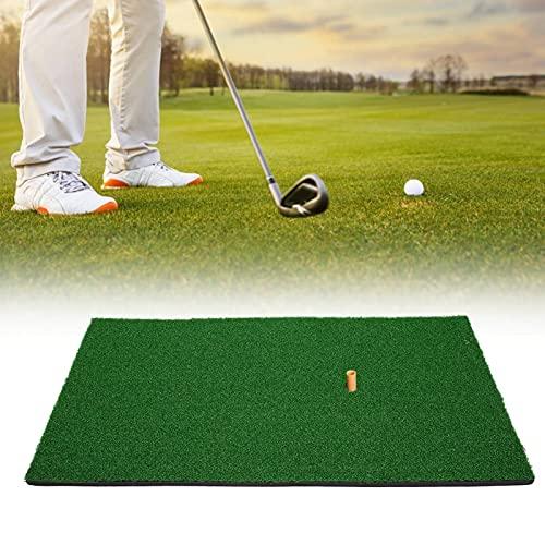Duokon Tragbare Mini-Golf-Schlagmatte, Professionelle Golf-Fairway-Strike-Schlagmatte für Den Garten Im Innen- und Außenbereich