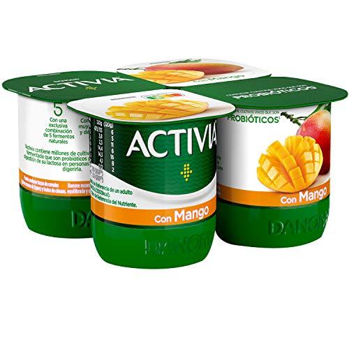 Activia con Mango 4x120 g