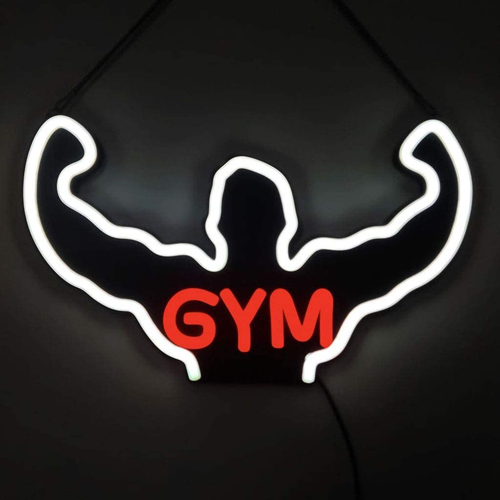 Gym Neon Signs New product Omaha Mall LED Art Wall Light Decoration Hanging for Gy
