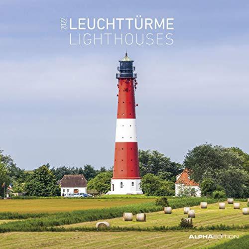 Leuchttürme 2022 - Wand-Kalender - Broschüren-Kalender - 30x30 - 30x60 geöffnet: Lighthouses