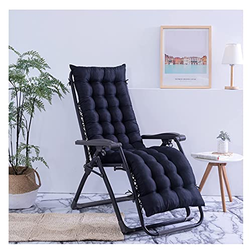 XHNXHN Sun Lounger Cush, Outdoor Garden Ersatz Lounge Chair Mat Thick Recliner Pad mit atmungsaktivem Stoff und Kordelzug, für Indoor/Outdoor/Patio/Sofa