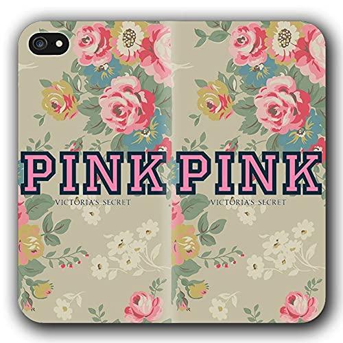 Funda iPhone 6 & Funda iPhone 6S Anti-Shock TPU Flip Leather Case Pink FLO yD L a lbums Girls G-1296