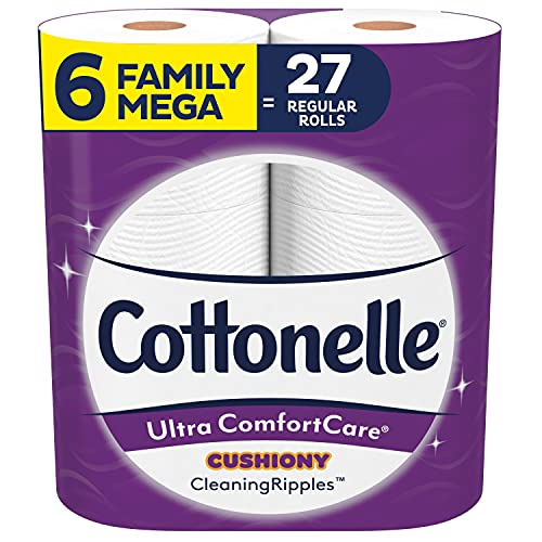 Cottonelle Ultra ComfortCare Soft Toilet Paper with Cushiony...