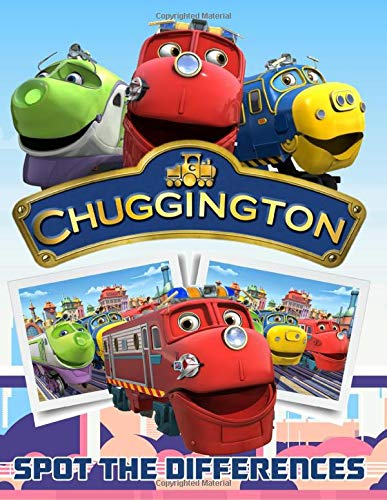 Chuggington Spot The Difference: Adult Activity Find The Difference Books For Women And Men