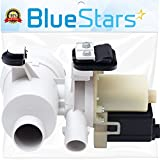 Ultra Durable W10130913 Washer Drain Pump Replacement part by Blue Stars- Exact Fit for Whirlpool Kenmore Maytag Washers - Replaces 8540024 W10730972 W10117829 W10135045