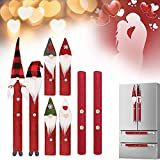 Refrigerator Door Handle Covers Set Adorable Kitchen Appliance Fridge Door Microwave Oven Dishwasher Handle Covers Protector for Holidays Decorations