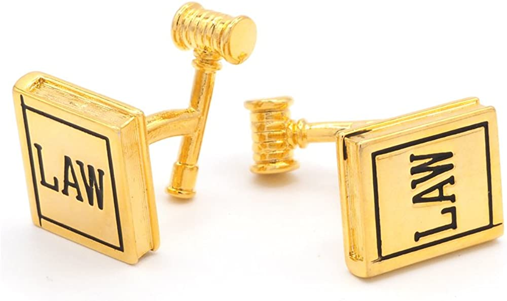 JJ Weston Law Book and Discount is also underway Gavel Made in USA Save money The Cufflinks.