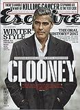 Esquire Magazine (December, 2013) George Clooney Cover