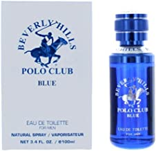 Beverly Hills Polo Club Blue by Beverly Hills Polo Club, 3.4 oz Eau De Toilette Spray for Men