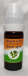 Krishna Aromatics Basil Oil - 500 ml (Pack of 12)