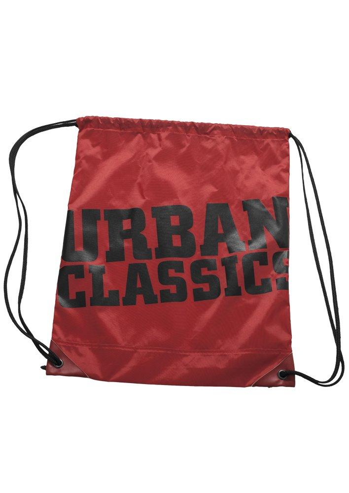 Urban Classics UC Gym Bag Turnbeutel, 41 cm, Red/Blk