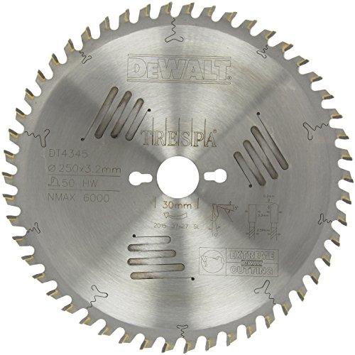 Dewalt DT4345-QZ TRESPA EXTREME Kreissägeblatt 250x30x3.2mm 50ZHW