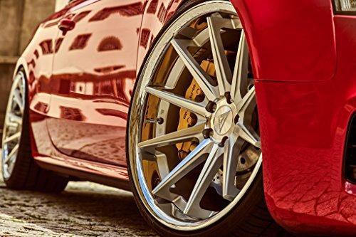 20' Inch Ferrada FR4 Silver Machine/Chrome Lip Concave Wheels Rims | Set of 4 | Fits AUDI A5 S5