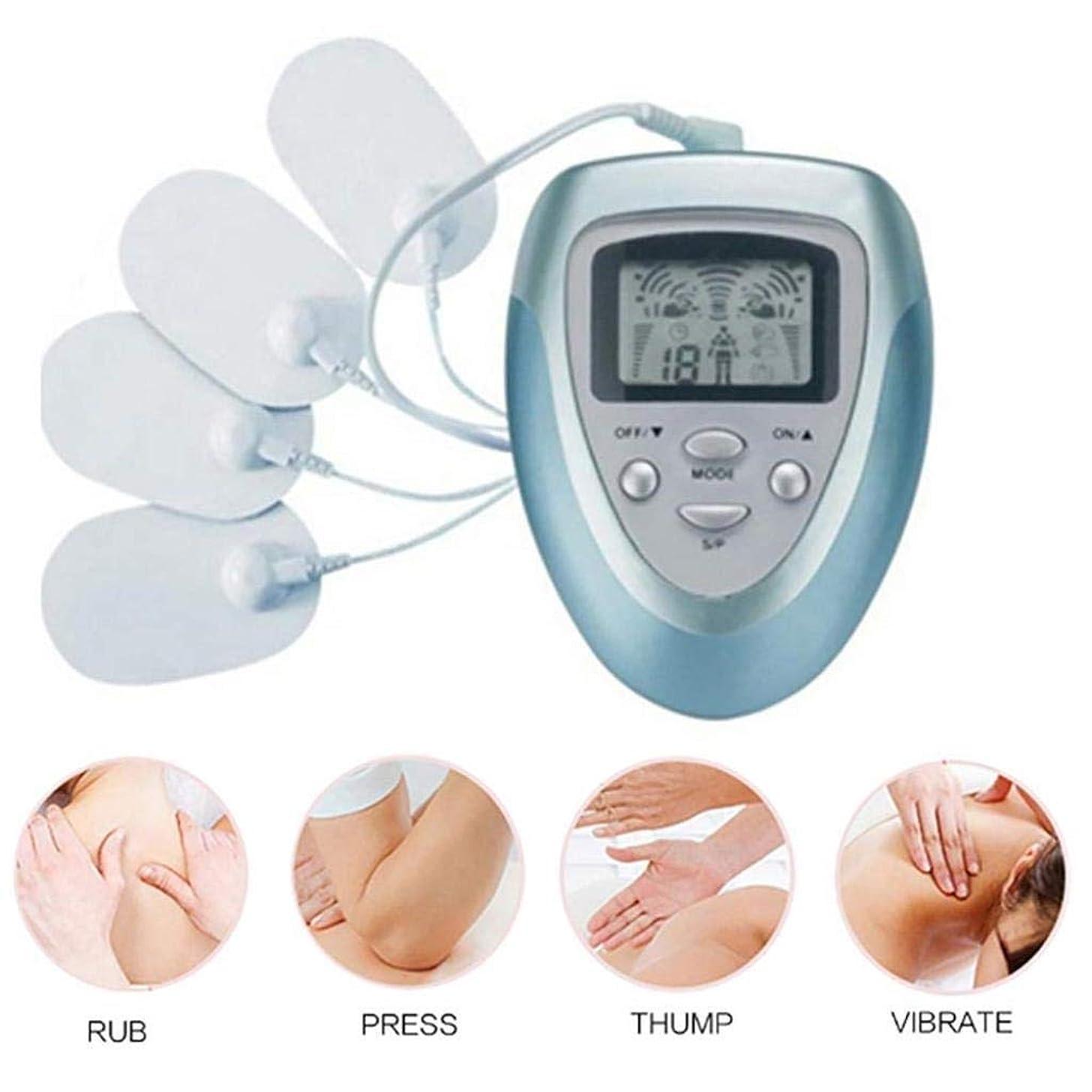 権限を与える不愉快に損なう電気マッサージ器、電子パルスマッサージ器、EMS刺激、ボディリラクゼーション筋肉、パルス+鍼灸マッサージ、痛みを軽減します