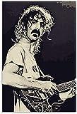 YYLPRQQ Frank Zappa Poster Leinwand Kunst Wandbild Druck