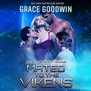Mated to the Vikens     Interstellar Brides, Book 8              Written by:                                                                                                                                 Grace Goodwin                               Narrated by:                                                                                                                                 BJ Pottsworth,                                                                                        Audrey Conway                      Length: 5 hrs and 27 mins     3 ratings     Overall 4.7