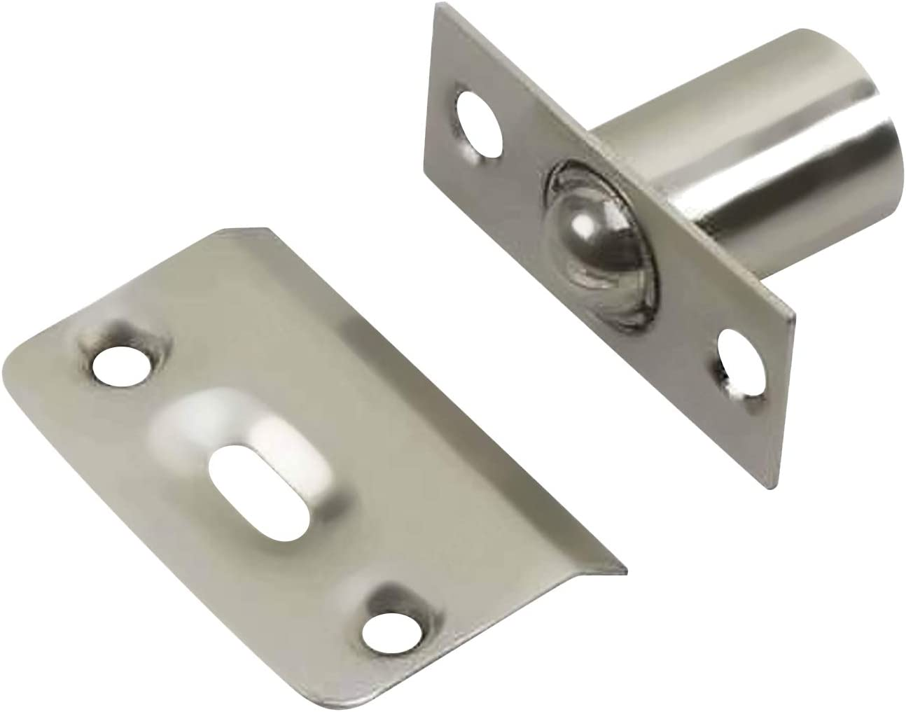 2 Pack Rok Hardware Brushed Large Limited time Wholesale for free shipping Adjustable Cabin Nickel Closet