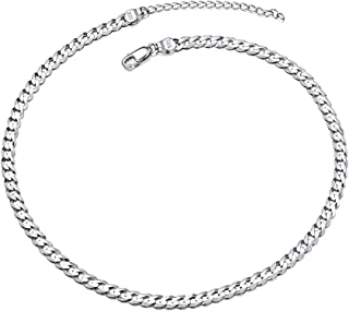 sterling silver cuban link chain 10mm